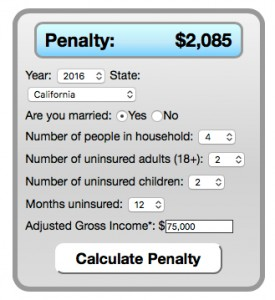 Penalty Calculator