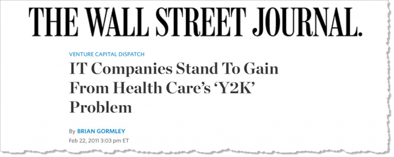 ICD10 – Companies To Gain From Health Care's 'Y2K' Problem
