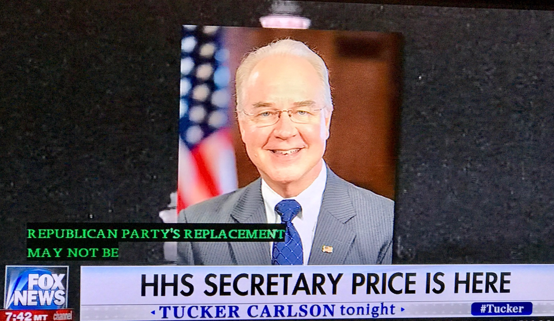 Secretary Tom Price Explains American Health Care Act