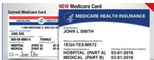 Medicare Beneficiary Identifier on new ID card