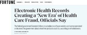 Fortune Magazine Quotes Michael F. Arrigo re Electronic Health Records