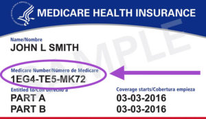 Medicare Beneficiary Identifier Required in 2020